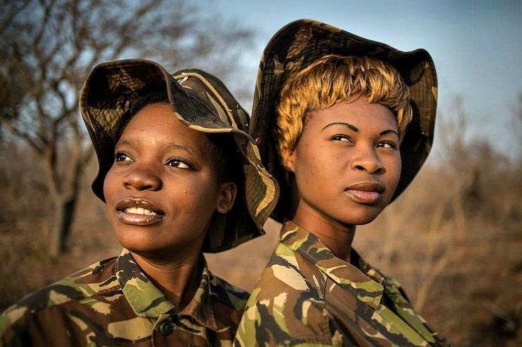 Majority-female Black Mambas are given Champions of the Earth award for helping keep endangered rhinos and other large animals in South African safe from poachers.