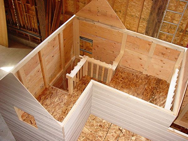 Interior of playhouse playhouse for the kids pinterest for Childrens wooden playhouse kits