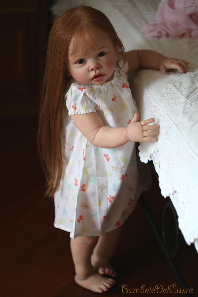 BamboleDelCuore Nursery~Reborn Baby Girl~Anita~rebon kit Tippi by Linda Murray | eBay