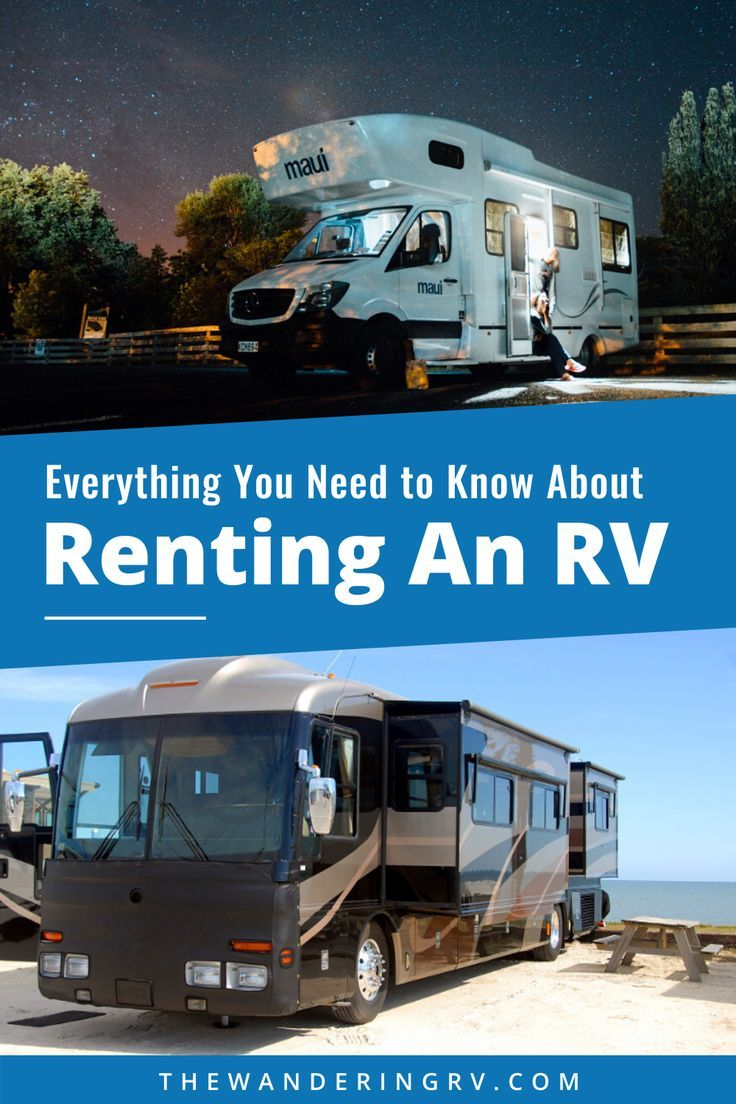 Everything To Know About Renting An Rv What To Bring Faqs More