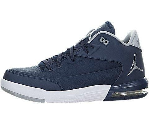 Jordan Men's Flight Origin 3 Basketball Shoe Midnight Navy/White 8.5