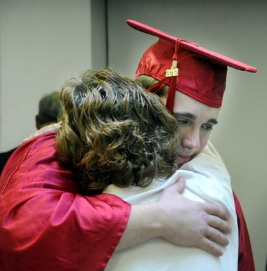 NEED THIS PIC OF SCOTT AND HIS MOM AFTER GRADUATION!