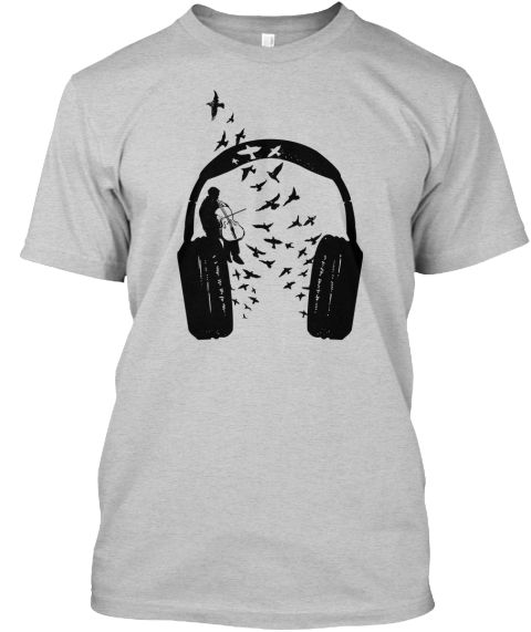 Headphone Cello - teespring #cello #music #musical #musician #barmalisiRTB