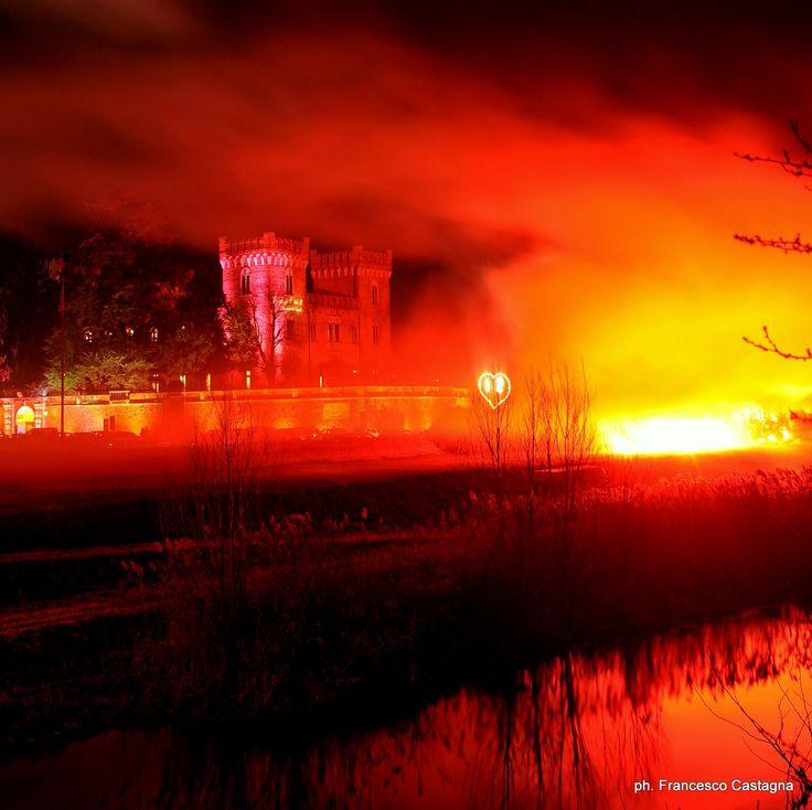 Fuochi d'artificio al Relaiscastellobevilacqua