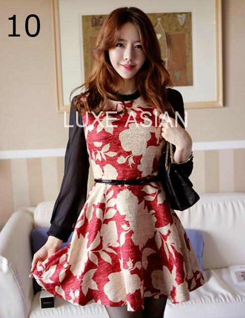 Luxe Asian Women Dresses Fashion Style Forever 21 Korean Fashion Clothing Women Online Shopping Mall19