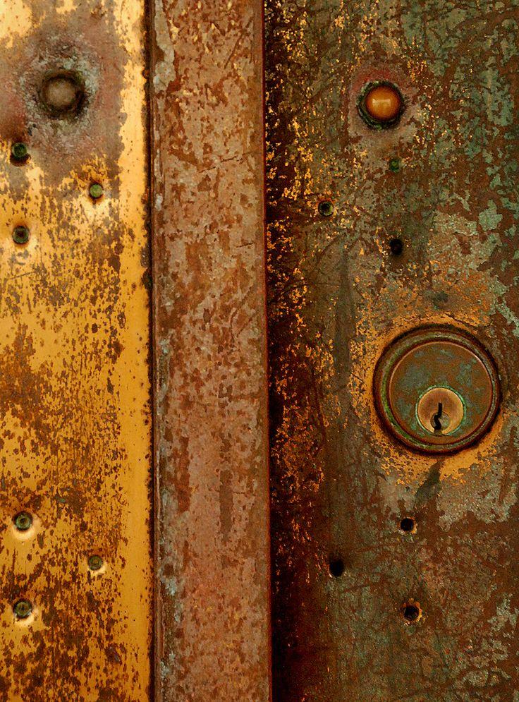 Rusty Metal Door 1713 best rust images on pinterest | peeling paint, rusty metal