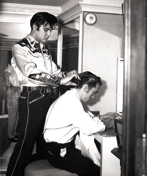 Haircut by Elvis