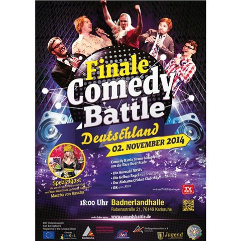 Finale Comedy Battle in Germany #comedyagainstviolence #violenceprevention #spiegelcomedygermany