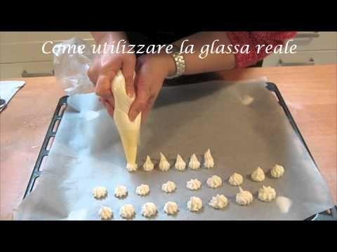 Glassa reale come utilizzarla - Corsi in cucina - YouTube