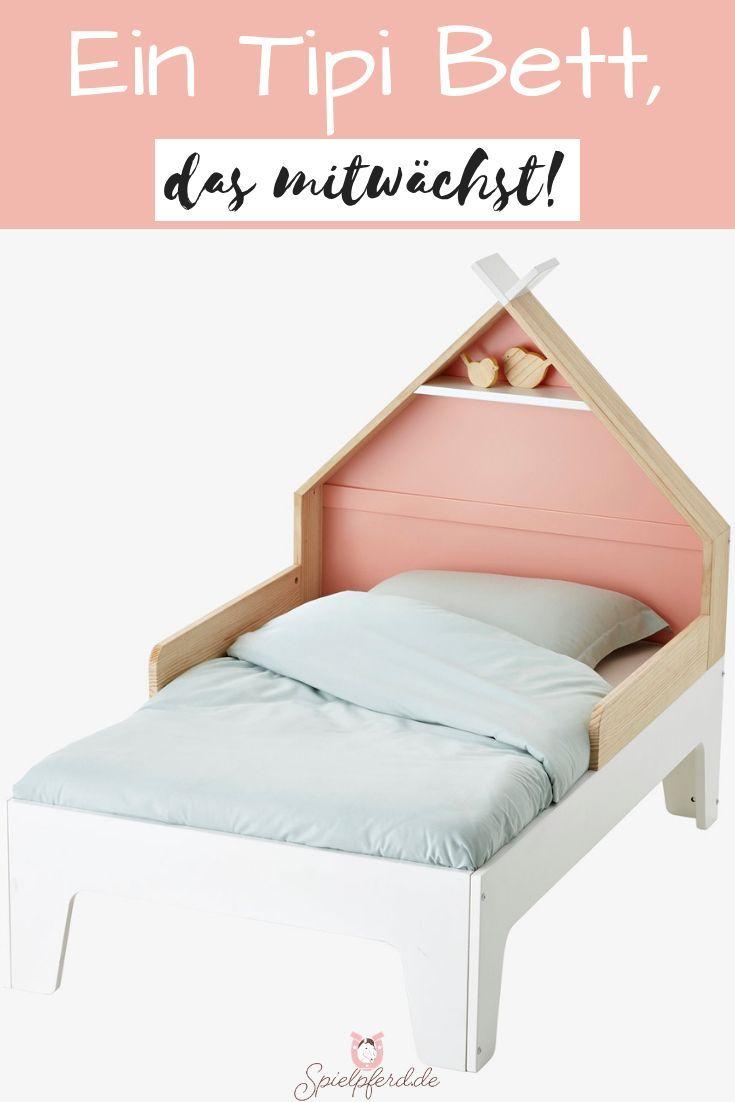 Tolles Mitwachs Kinderbett Von Vertbaudet Fur Alle Tipifans Die