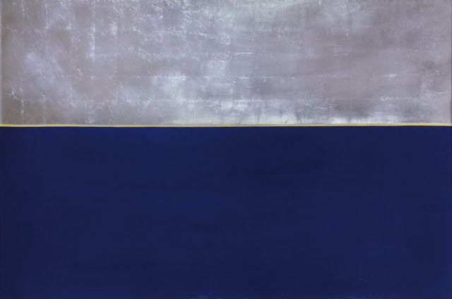 Anna–Eva Bergman. Núm. 8-1969 Gran horitzó blau