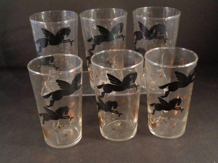 Barware Collection - FEDERAL GLASS - PEGASUS - TUMBLERS
