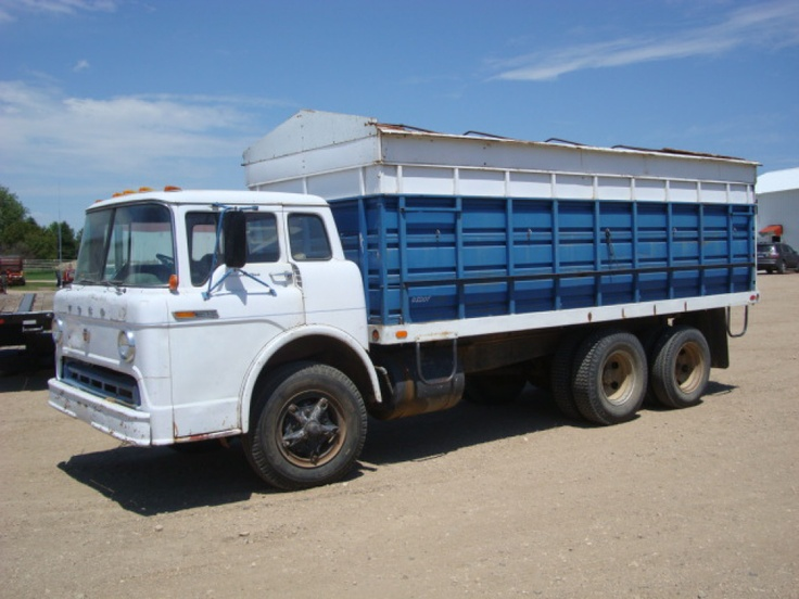 Ford Cabover Grain Truck
