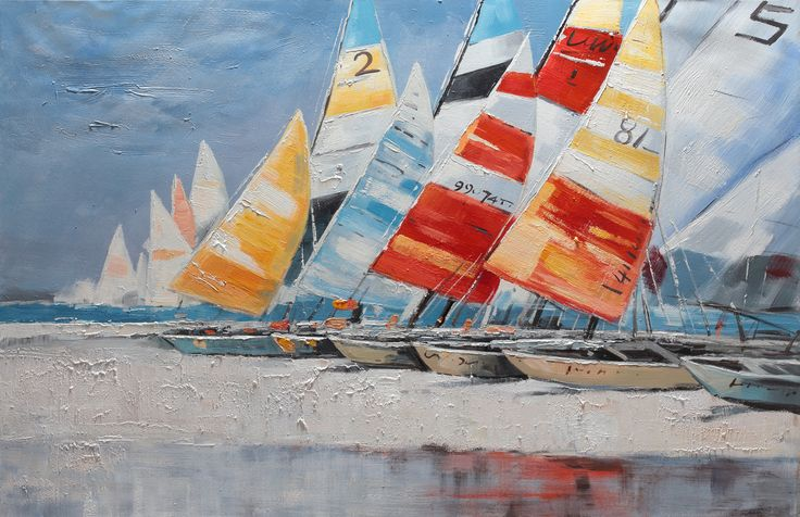 Dipinto art. w658 90x120 - Original paintings, Sea & sun, Art and images - Bubola & Naibo