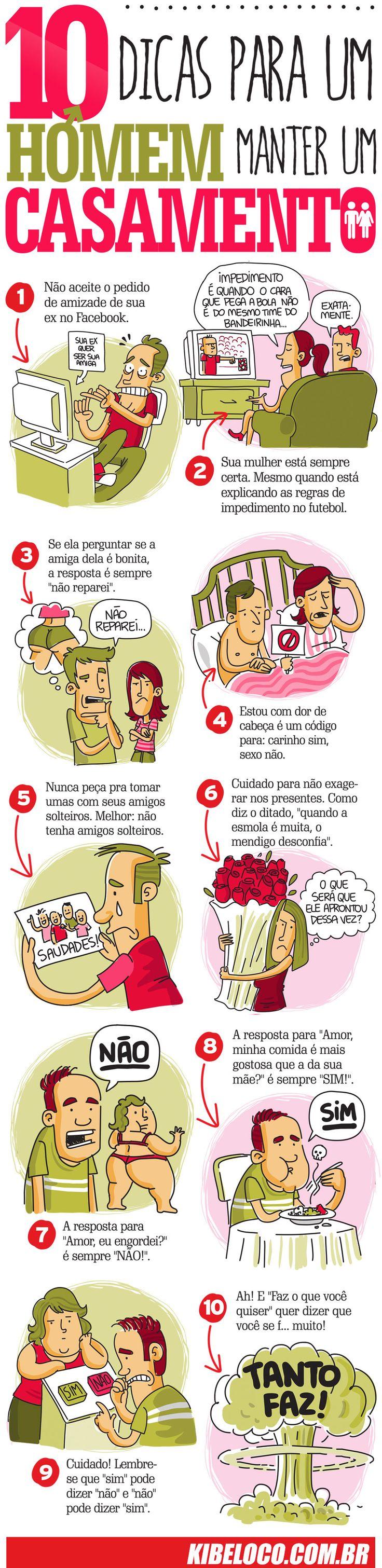 Top Kibe Loco - maneiras para um homem manter seu casamento.