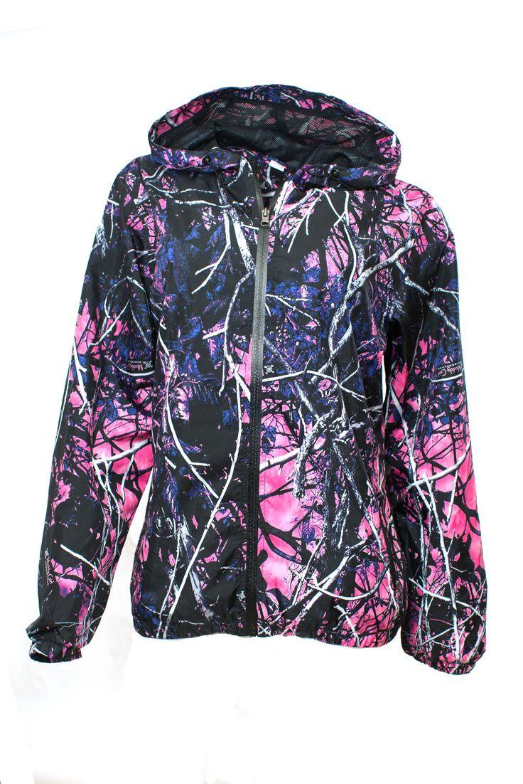 Camo  Wind Breaker Jacket Muddy Girl from American Outdoor Woman