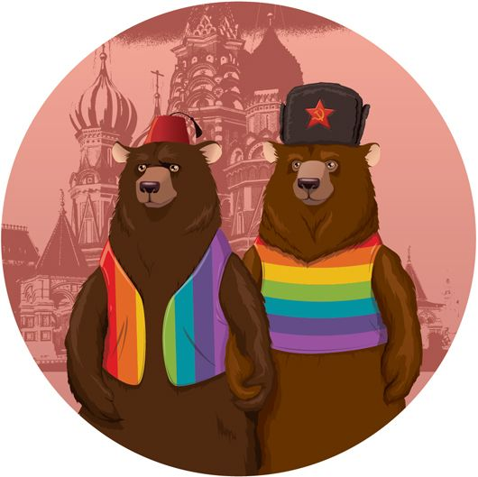 Creative Review - Goodson illustrators support gay rights in Russia
