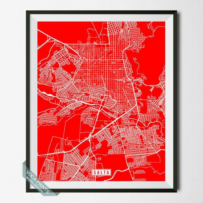 Best Foreign Countries Street Map Print Images On Pinterest - Argentina map to print