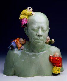 Dr John Yu, 2004 by Ah Xian