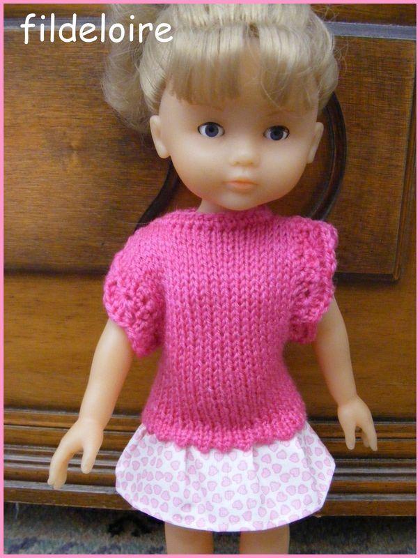 tuto pour une petite robe pour les petites chéries de corolle ou les paola reina…