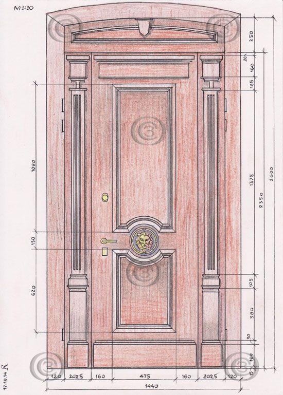 Нестандартные входные стальные двери
