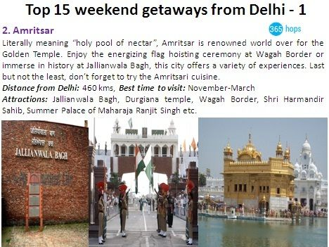 #Amritsar is renowned world over for the #GoldenTemple. Enjoy the energizing flag hoisting ceremony at #WagahBorder or immerse in history at #JallianwalaBagh, this city offers a variety of experiences.