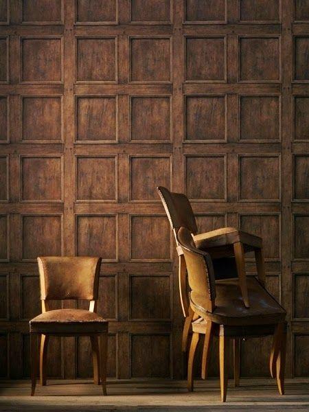 1000 images about papel pintado on pinterest gabriel - Papel pintado imitacion madera ...