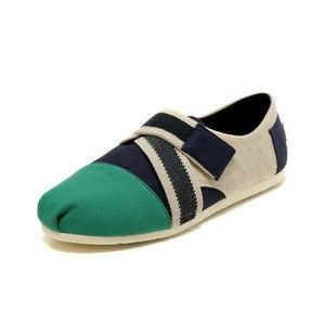Cheap Toms Magic Buckle Navy Green Women Classics