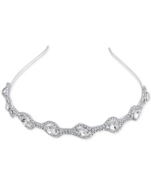 Say Yes to the Prom Silver-Tone Rhinestone Headband, a Macy's Exclusive Style  - Silver
