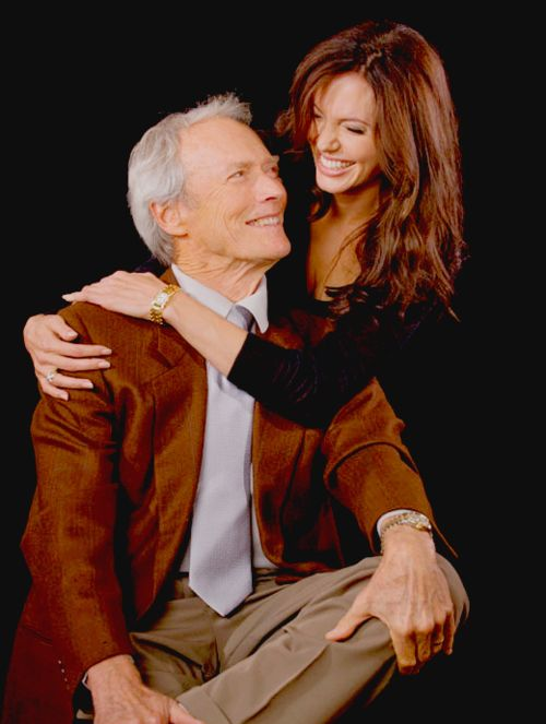 Clint Eastwood & Angelina Jolie