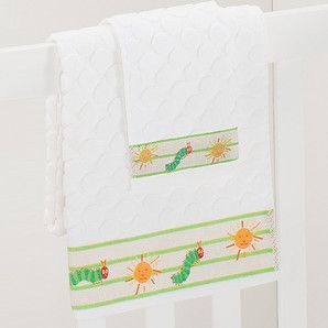 The Very Hungry Caterpillar Bath Towel & Face Washer Set