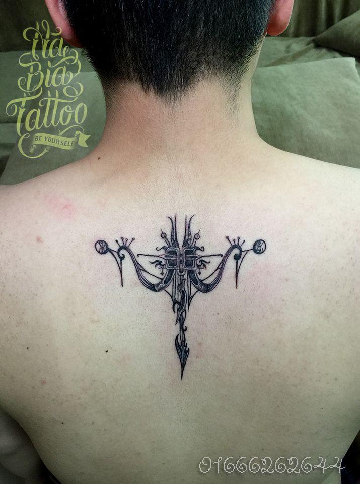 agittarius tattoo, hình xăm cung nhân mã, hình xăm cung hoàng đạo