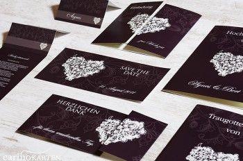 Hochzeitskarten drucken
