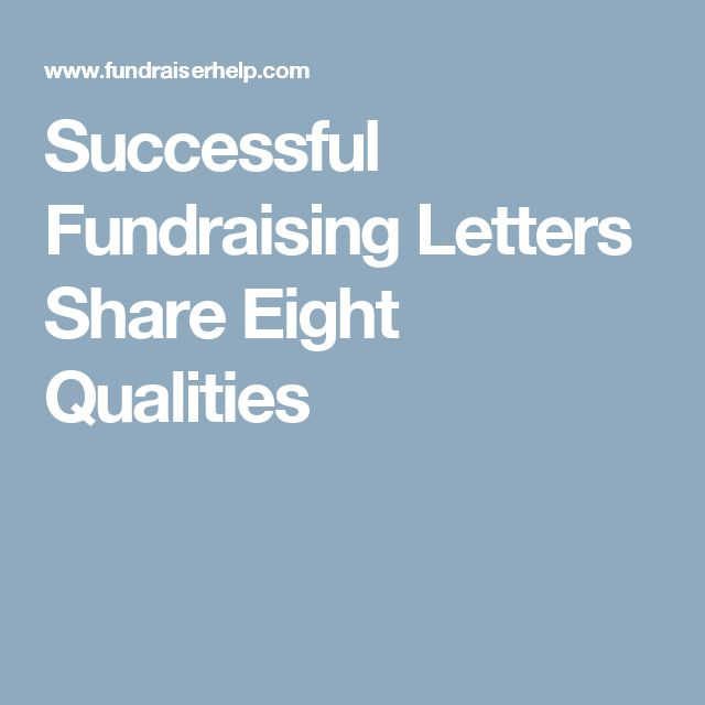 Best  Fundraising Letter Ideas On   Nonprofit