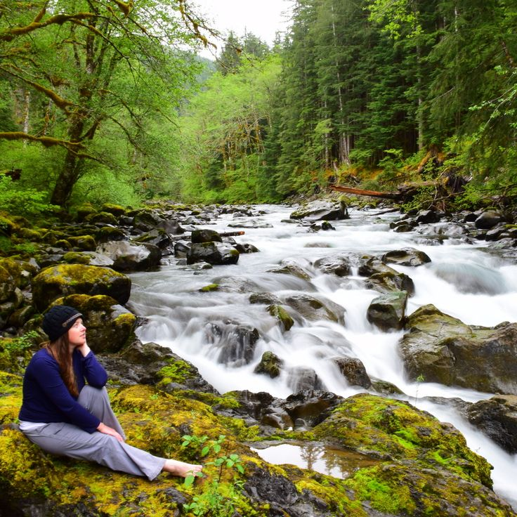 With limited internet, television and telephones, Olympic National Park is the ideal place to ditch the electronics and connect with nature instead.