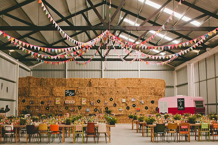A 1950s inspired Australian Farm Wedding