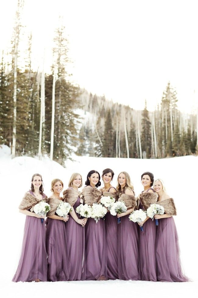 Canyons Resort Utah Winter Wedding