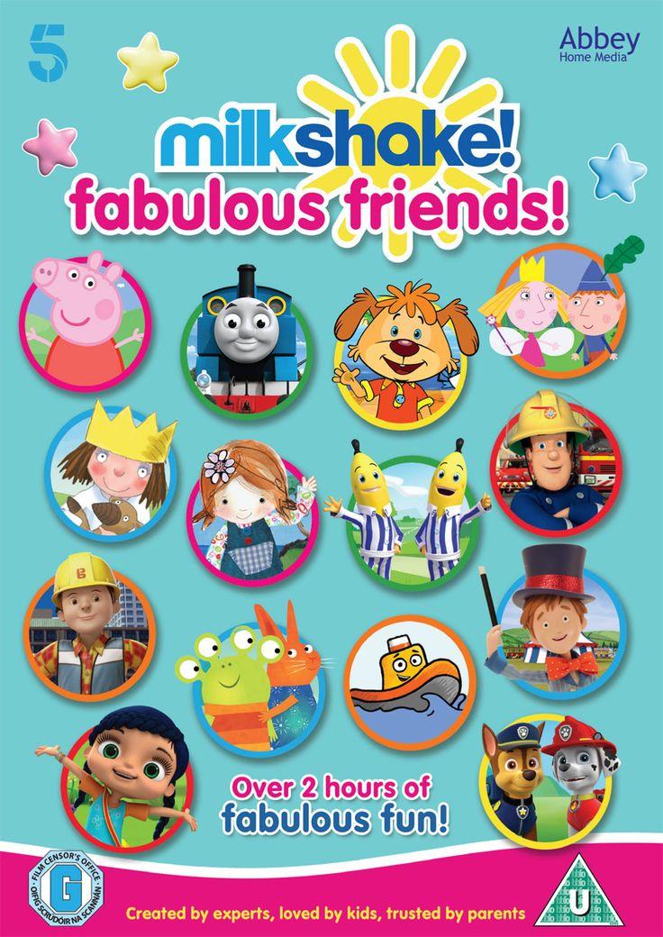 "Win New ""Milkshake! Fabulous Friends"" DVD - Peppa, Thomas, Pip, Ben & Holly, Fireman Sam & More | Mother Distracted"