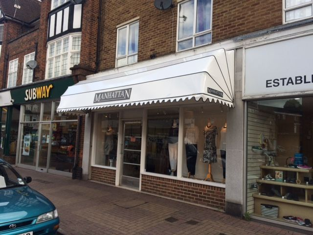 Dutch canopy with wet look fabric and sign writing by Deans Blinds And Awnings | D?? cephe | Pinterest & Dutch canopy with wet look fabric and sign writing by Deans Blinds ...