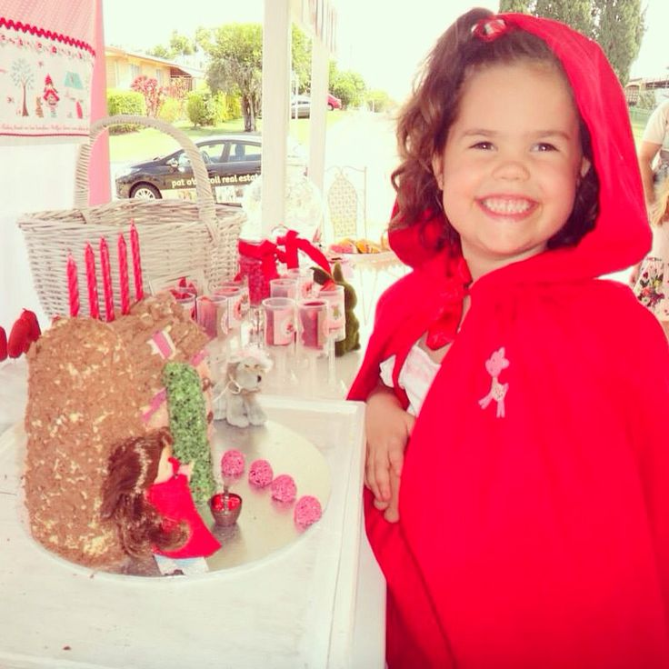 Red riding hood Cape and matching dress