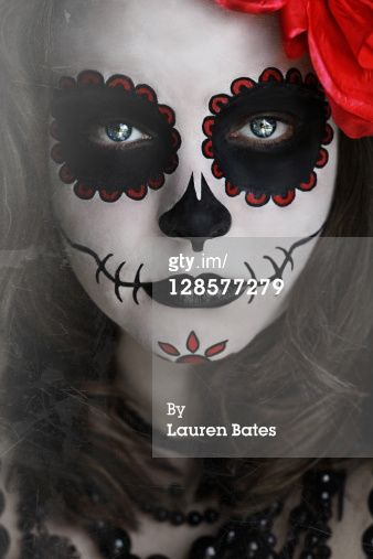 Day of the Dead Makeup Tutorial | Day Of The Dead Makeup Royalty-free Image | Getty Images Canada ...
