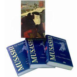 Livro - Musashi - Caixa com a Obra em 3 Volumes