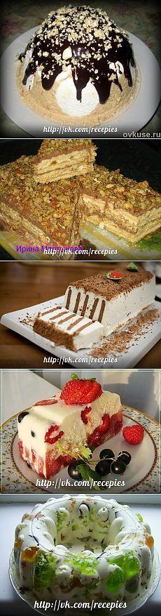 Подборка простых тортиков без выпечки в духовке