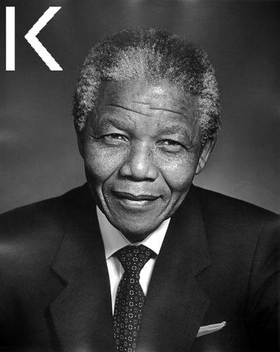Nelson Rolihlahla Mandela (Mvezo, 18 luglio 1918[1]) è un politico sudafricano, primo presidente a essere eletto dopo la fine dell'apartheid nel suo Paese e premio Nobel per la pace nel 1993 insieme al suo predecessore Frederik Willem de Klerk.