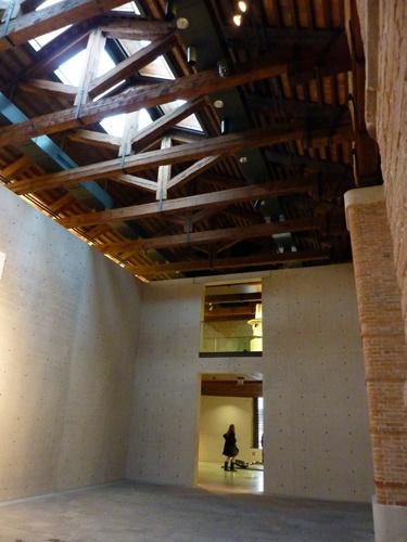 podio: Punta della dogana un museo por Tadao Ando