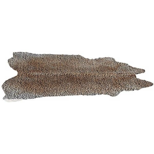 Leopard Print Cow Hide 5'x6' Decorative Area Rug ($435) ❤ liked on Polyvore featuring home, rugs, cowhide rug, cowhide area rug, cow hide rug, cow skin rug and cow leather rug