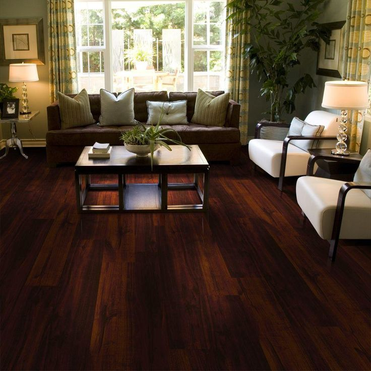 TrafficMASTER Allure Ultra 75 In X 476 Espresso Oak Luxury Vinyl Plank Flooring 198 Sq Ft Case