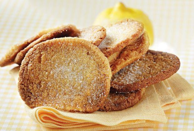 Μπισκότα λεμονιού από την Αργυρώ Μπαρμπαρίγου | Αυτά τα μπισκότα γίνονται πολύ γρήγορα και ταιριάζουν τέλεια με κρέμα λεμονιού
