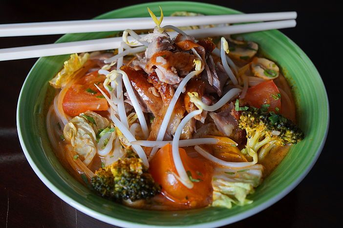 Chef Steve Thibodeau - Thai inspired cuisine | Sweet and Sour Duck Noodle Soup