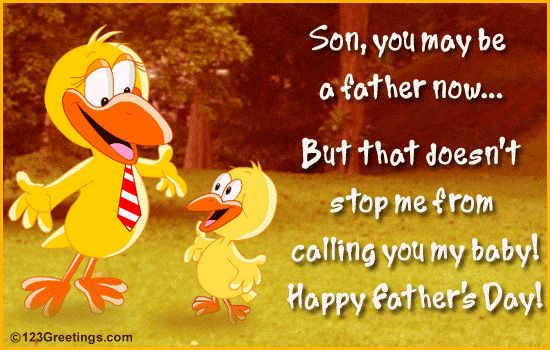 happy fathers day son. love you. | ... » Father's Day [Jun 16] » For Your Son » Happy Father's Day Son